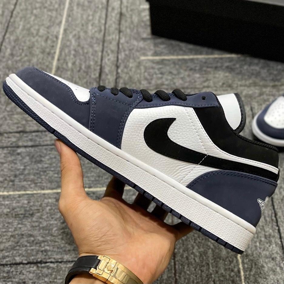 Giày Nike Air Jordan 1 Retro cổ thấp Navy
