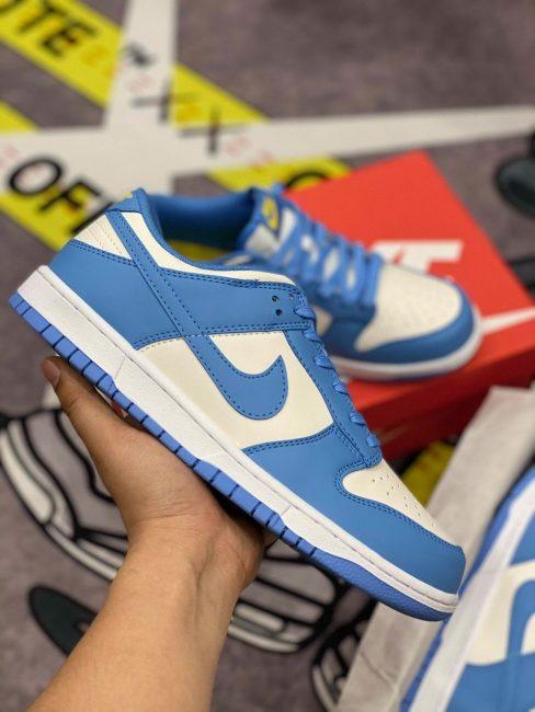 Nike Dunk Low xanh