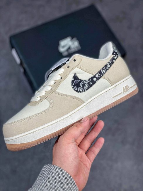 giày Nike Air Force 1 Low Paisley Swoosh Rep 1:1