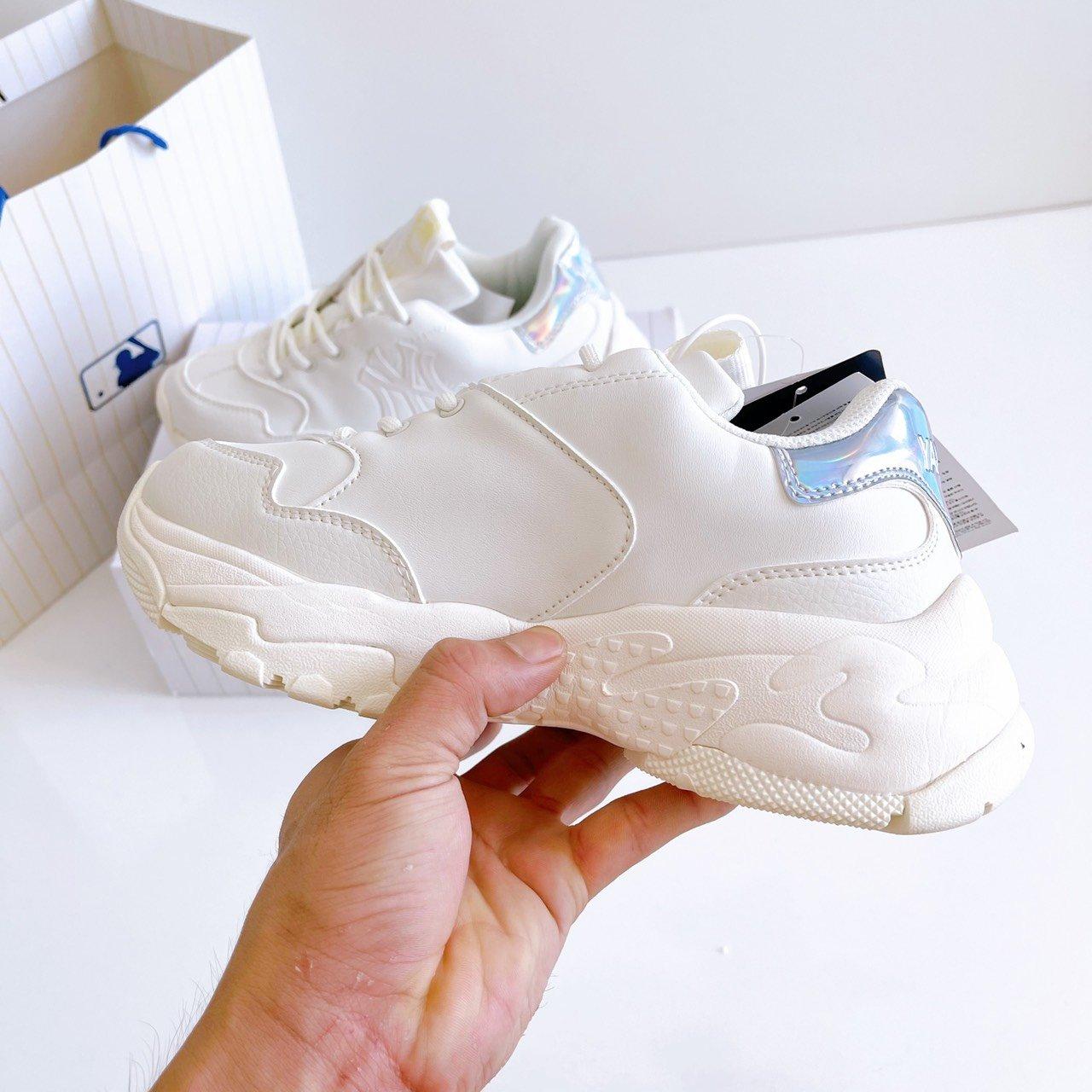 giày MLB NY YANKEES SHINY Hologram gót xanh Rep 1 1