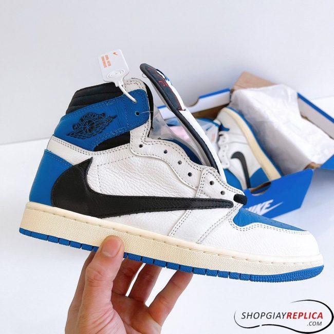 giày Air Jordan 1 High Travis Scott x Fragment Rep 1:1