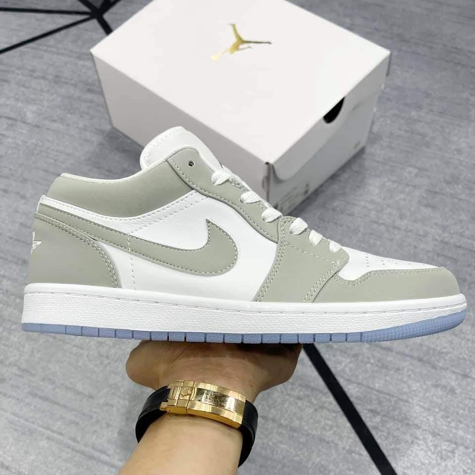 Giày Nike Air Jordan 1 Low Wolf Grey Rep 11