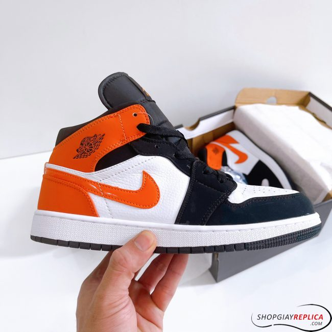 Giày Nike Air Jordan 1 Mid Shattered Backboard Rep 1:1