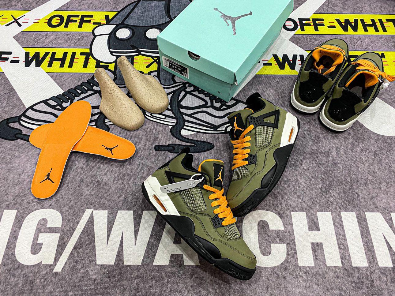 giày Nike Air Jordan 4 Retro Undefeated Like Auth