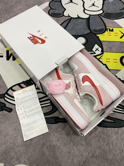Giày Nike Air Force 1 07 QS Valentine's Day Love Letter rep 11
