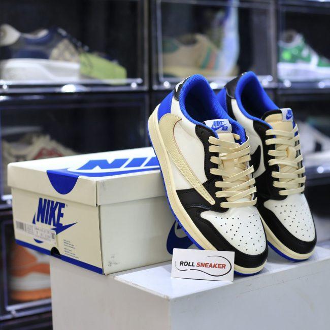 Nike Air Jordan 1 Low Travis Scott x Fragment Like Auth