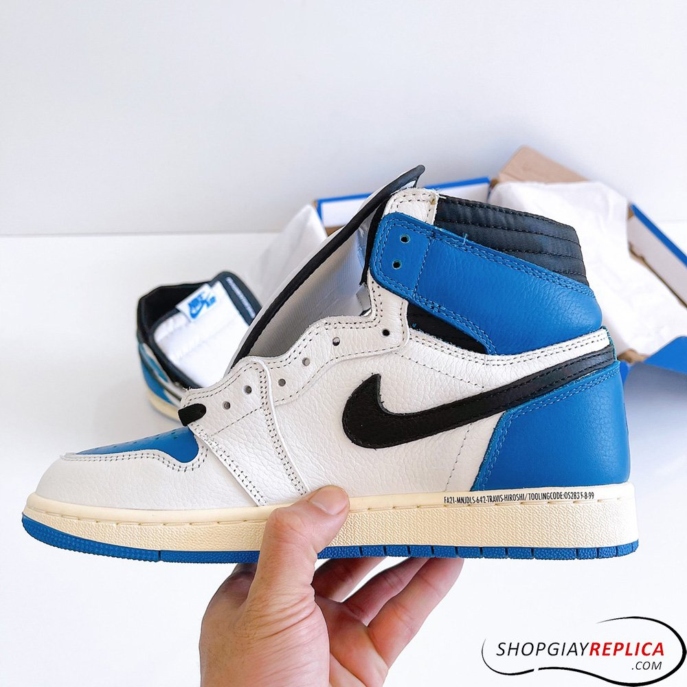 giày Jordan 1 High Travis Scott x Fragment Rep 11
