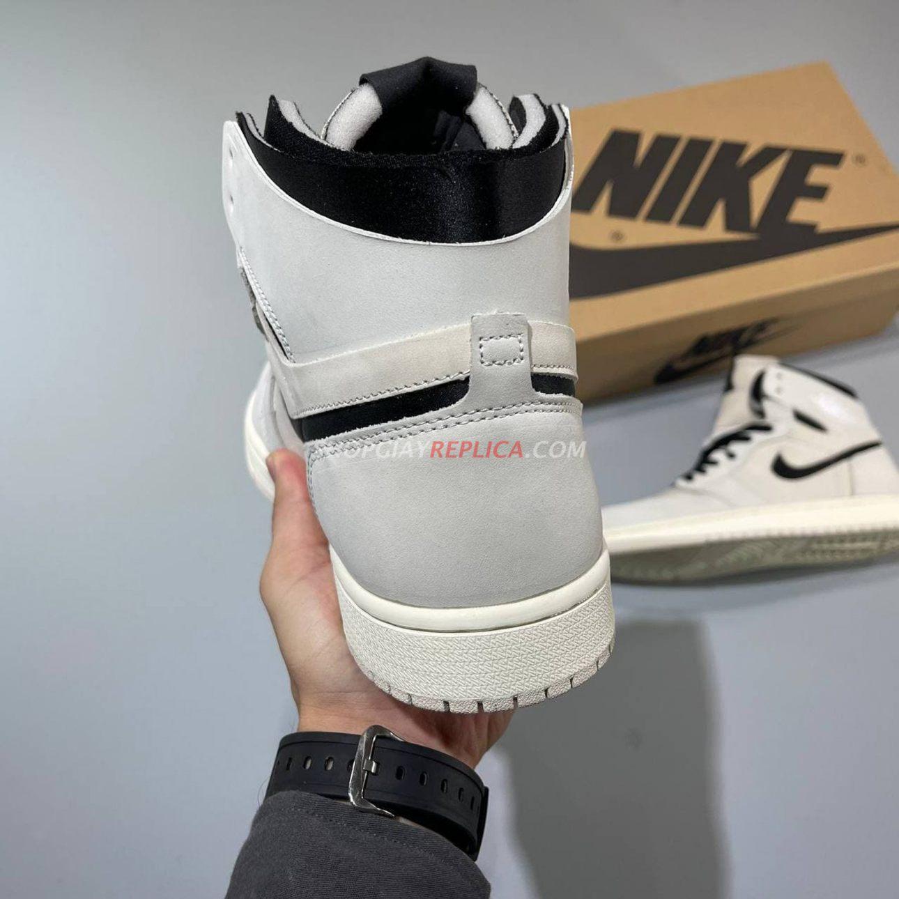 Giày Nike Air Jordan 1 Zoom Air Summit White Black rep 1:1