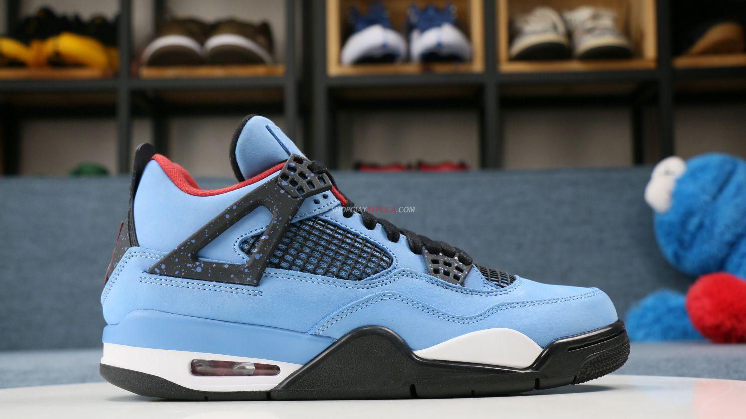 Giày Nike Air Jordan 4 Travis Scott Like Auth